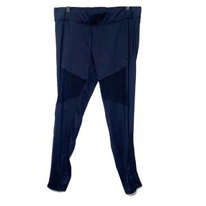 H & M • Black Mesh Panels Workout Gym Active Pants